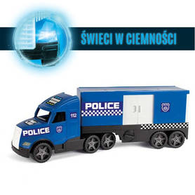 Wader 36200 Magic Truck ACTION - Policja