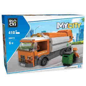 Klocki Blocki MyCity 410e Śmieciarka w kartonie