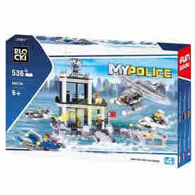 Klocki łączące się z Klockami Lego City. Komisariat Policji