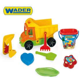 Wader 70340 Wywrotka z kompletem do piasku i wiaderkiem