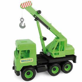 Wader 32102 Middle Truck Dźwig zielony
