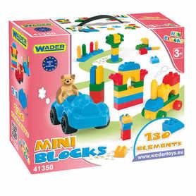 Wader Klocki Mini Blocks 130szt w kartonie