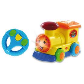 Zabawka Smily Play Lokomotywa Pojazd Sterowany z Kierownicą – LOKOMOTYWA