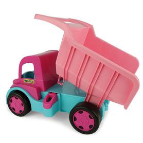 Duży Samochód Wywrotka dla dziewczynki w kolorze różowym