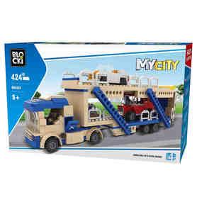 Klocki MyCity 424el Pomoc Laweta KB0223 w pudełku