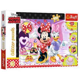 Trefl 14820 Puzzle 100 Myszka Minne i Daisy