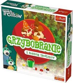 T01586 Trefl Gra Treflikowe Grzybobranie