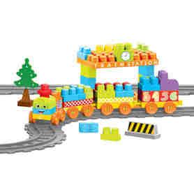 Wader 41480 Baby Blocks Railway Kolejka 13,35m