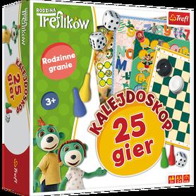 TREFL GRA PLANSZOWA - KALEJDOSKOP 25 GIER