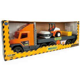 Wader 36740 Super Truck laweta z Walcem w opakowaniu