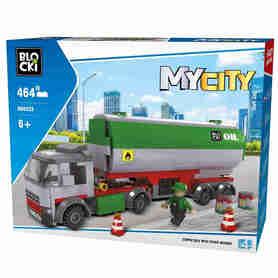 Klocki Blocki MyCity 464el Cysterna KB0222 w pudełku