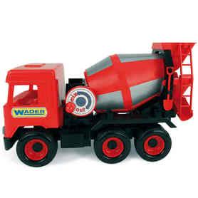 Wader 32114 Middle Truck Betoniarka czerwona