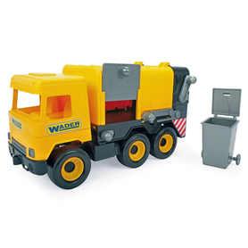 Wader 32123 Middle Truck Śmieciarka żółta