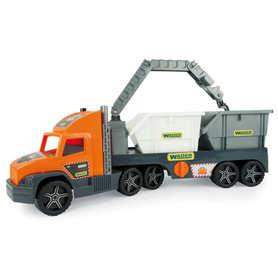 Wader 36760 Super Truck laweta z KONTENERAMI