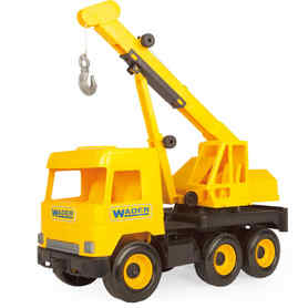 Wader 32122 Middle Truck Dźwig żółty