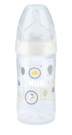 NUK BUTELKA NEW CHOICE+ CLASSIC 150 ML. + SMOCZEK