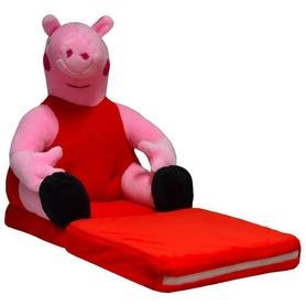 Pluszowy Fotelik Rozkładany Świnka Peppa