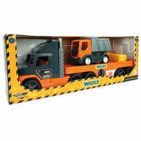 Wader 36710 Super Truck laweta z Wywrotką
