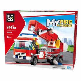 Klocki Blocki Wóz strażacki 244 elementy