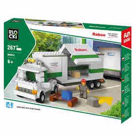 Klocki Blocki RABEN Long Truck 267el. KBR053
