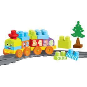Wader 41460 Baby Blocks Railway Kolejka 1,45m