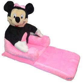 Fotel Rozkładany dla Dziecka Myszka Minnie