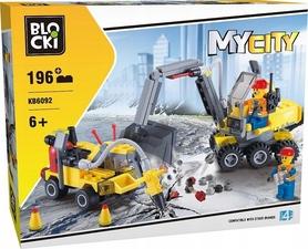 KLOCKI BLOCKI MyCity KOPARKA 196el. KB6092