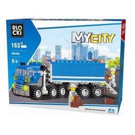 Klocki Blocki Ciężarówka z klocków typu lego