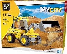 KLOCKI BLOCKI MyCity Koparka 117el. KB8042