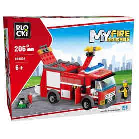 Klocki Blocki Wóz strażacki