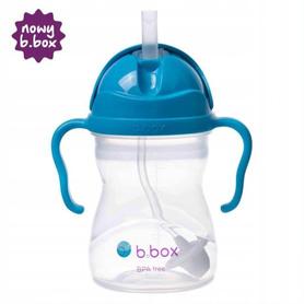 B.BOX Inowacyjny Bidon Słomka Niebieski Kobalt