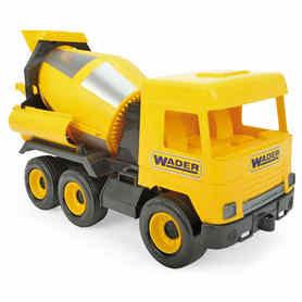 Wader 32124 Middle Truck Betoniarka żółta