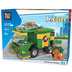 Klocki Blocki MyCity 51e Uliczna Zamiatarka KB0219 opakowanie