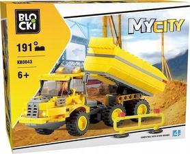 KLOCKI BLOCKI MyCity WYWROTKA 191el. KB8043