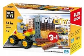KLOCKI BLOCKI MyCity Pojazd Budowlany 3w1  KB6209