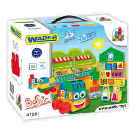 Wader 41581 Klocki Middle Block 33el.