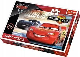 TREFL PUZZLE 100 AUTKA CARS 3 PISTON CUP