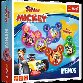 Trefl 01601 Gra Memos Mickey Miki