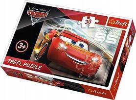 TREFL PUZZLE 30 AUTA 3 ZYGZAK MCQUEEN