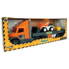 Wader 36720 Super Truck laweta ze Spychaczem