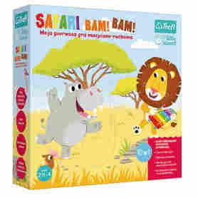 Trefl Gra Safari Bam! Bam! - Little Planet w Pudełku