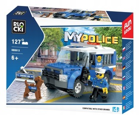 KLOCKI BLOCKI MYPOLICE WIĘŹNIARKA 127el.