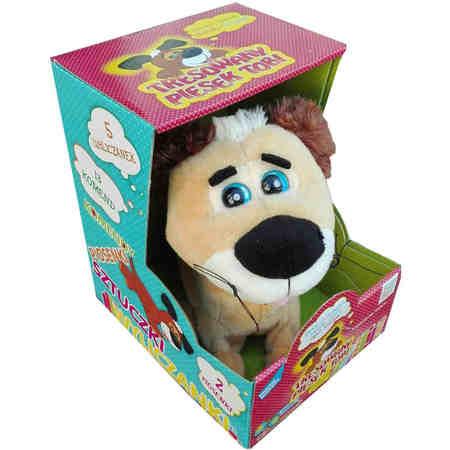 Interaktywny Tresowany Piesek Tobi Brązowy Tobi w Pudełku