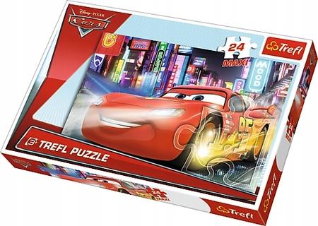 TREFL PUZZLE MAXI 24 CARS - MIASTO NOCĄ