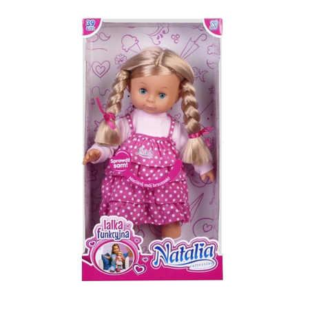 Lalka Funkcyjna Natalia z warkoczami