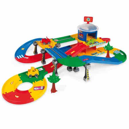 Wader Zabawki 53130 Garaż z trasą 5,5m