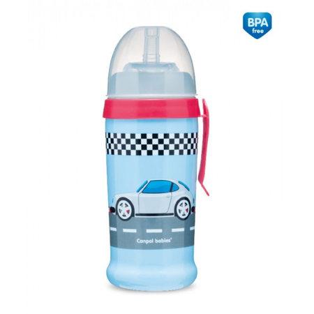 Canpol 56/516_blud Bidon niekapek - Racing