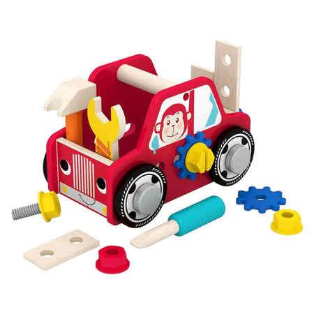 Smily Play Drewniane Auto z narzędziami