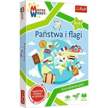 Trefl 01953 Gra Państwa i Flagi Mistrz Wiedzy (1)