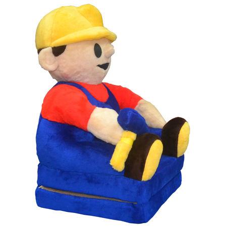 Fotelik Pluszowy Bob Budowniczy